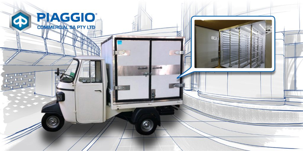 Piaggio Commercial SA - Piaggio has cooked up the perfect Heated Pizza delivery van for your business-01