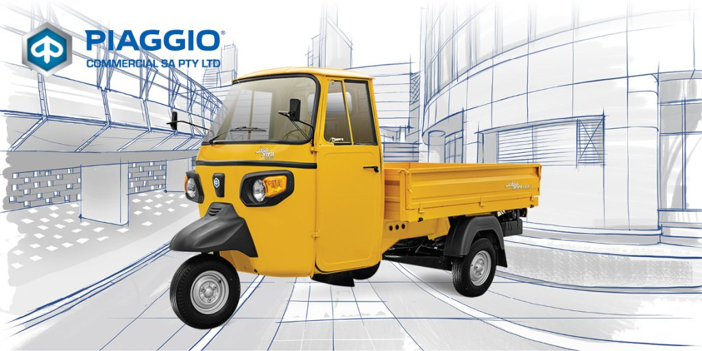 Piaggio Commercial SA - Say hello to the world's most versatile modes of transport!